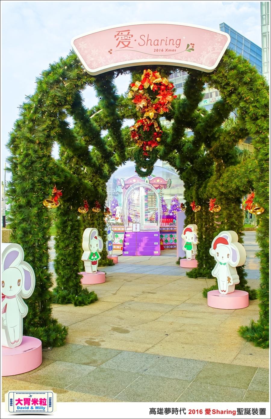 2016聖誕約會景點推薦@高雄夢時代 統一時代百貨 2016聖誕裝置@大胃米粒0022.jpg