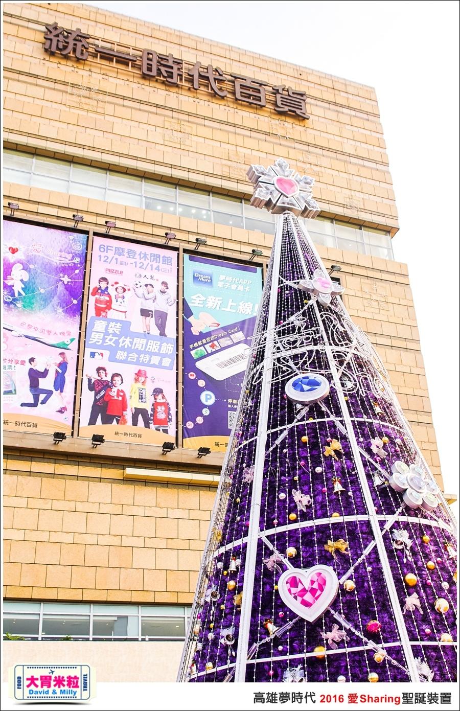 2016聖誕約會景點推薦@高雄夢時代 統一時代百貨 2016聖誕裝置@大胃米粒0002.jpg