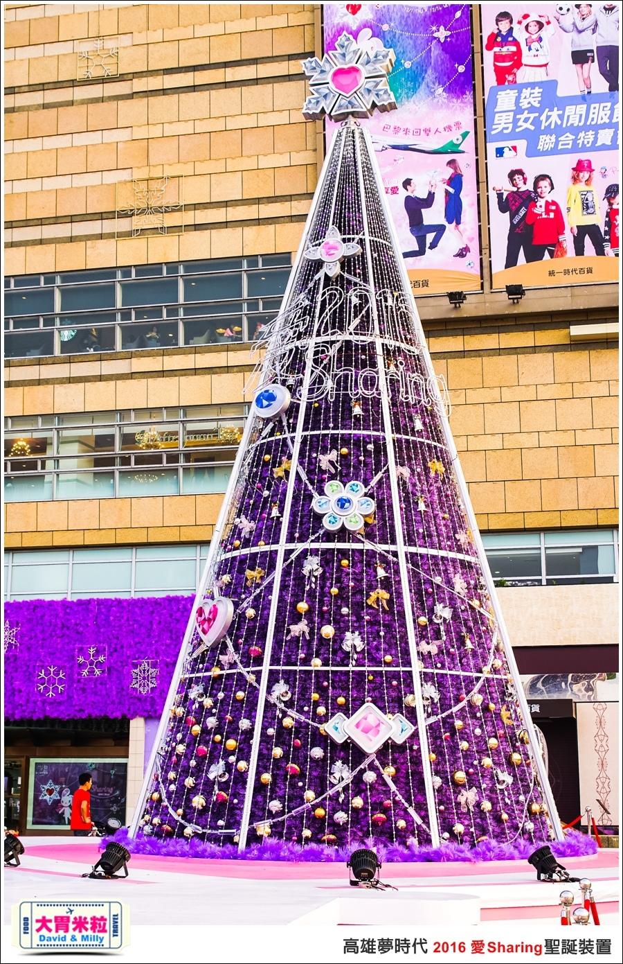 2016聖誕約會景點推薦@高雄夢時代 統一時代百貨 2016聖誕裝置@大胃米粒0003.jpg