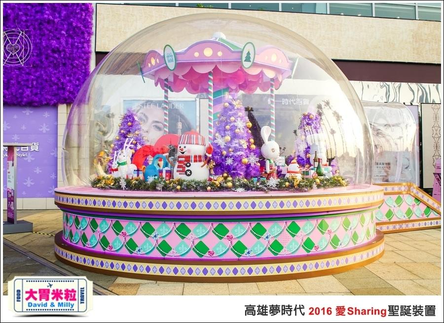 2016聖誕約會景點推薦@高雄夢時代 統一時代百貨 2016聖誕裝置@大胃米粒0019.jpg