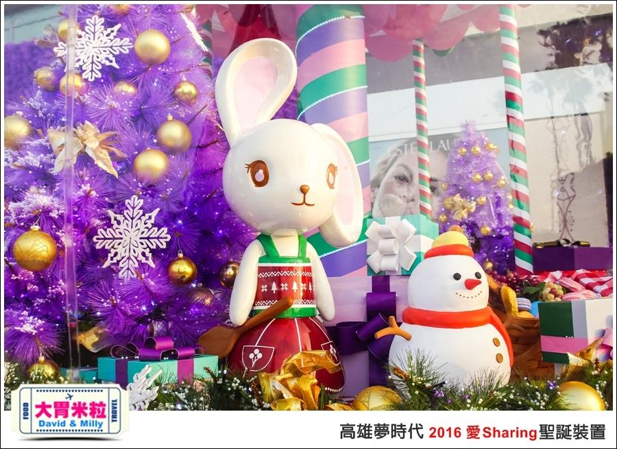 2016聖誕約會景點推薦@高雄夢時代 統一時代百貨 2016聖誕裝置@大胃米粒0020.jpg