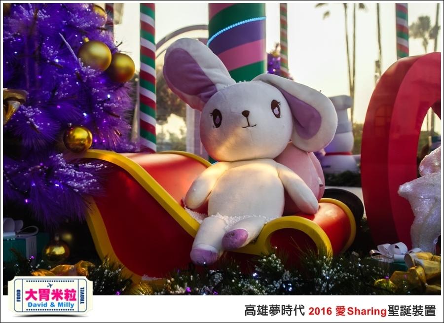 2016聖誕約會景點推薦@高雄夢時代 統一時代百貨 2016聖誕裝置@大胃米粒0021.jpg