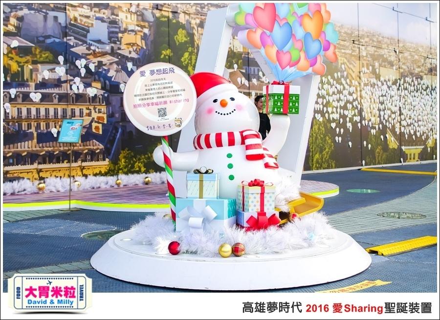 2016聖誕約會景點推薦@高雄夢時代 統一時代百貨 2016聖誕裝置@大胃米粒0005.jpg