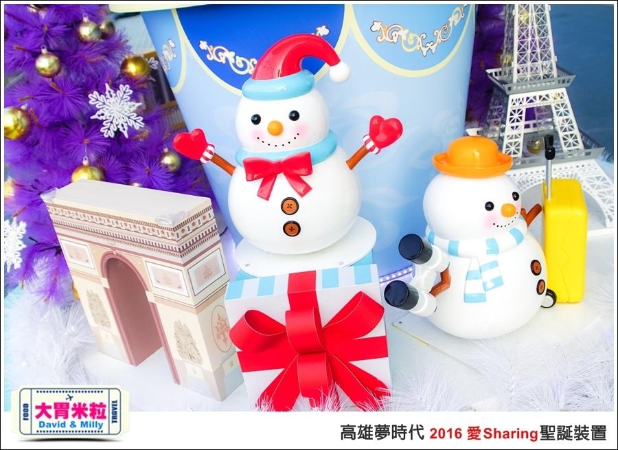 2016聖誕約會景點推薦@高雄夢時代 統一時代百貨 2016聖誕裝置@大胃米粒0012.jpg