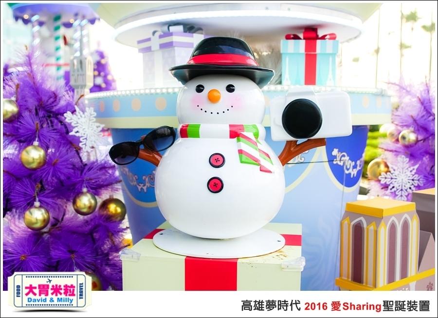 2016聖誕約會景點推薦@高雄夢時代 統一時代百貨 2016聖誕裝置@大胃米粒0013.jpg