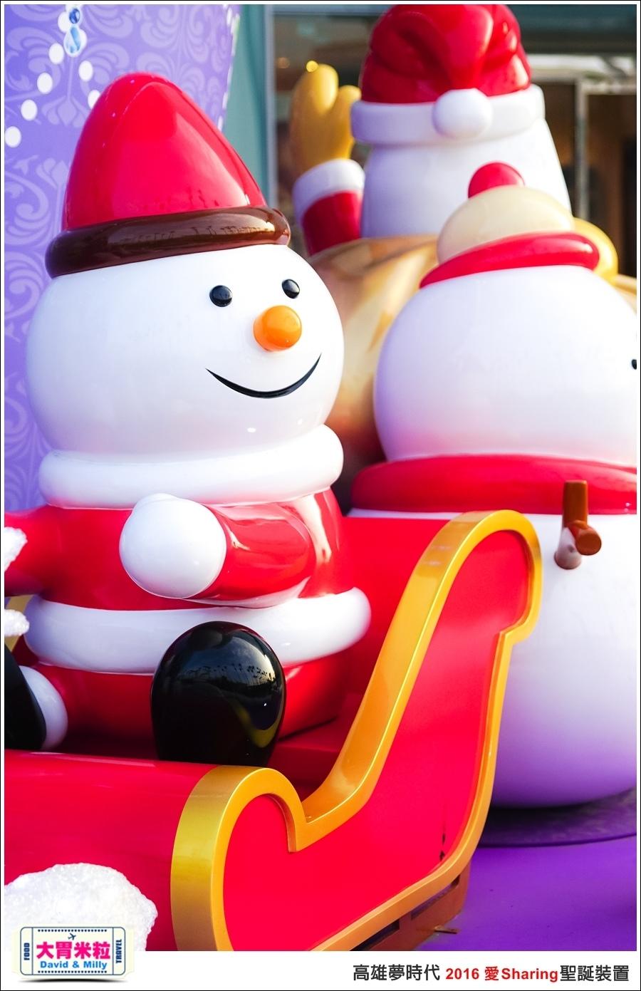 2016聖誕約會景點推薦@高雄夢時代 統一時代百貨 2016聖誕裝置@大胃米粒0014.jpg
