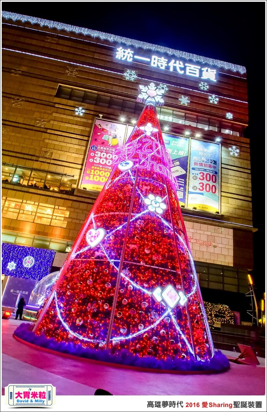2016聖誕約會景點推薦@高雄夢時代 統一時代百貨 2016聖誕裝置@大胃米粒0029.jpg