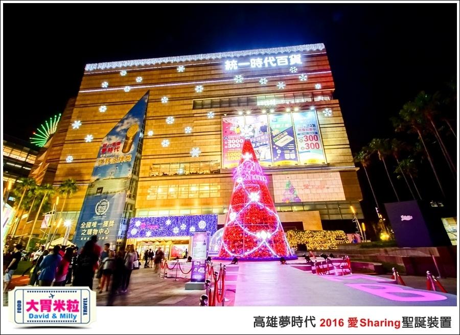 2016聖誕約會景點推薦@高雄夢時代 統一時代百貨 2016聖誕裝置@大胃米粒0030.jpg