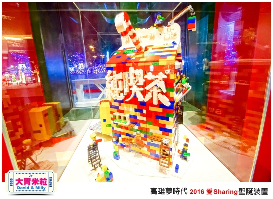 2016聖誕約會景點推薦@高雄夢時代 統一時代百貨 2016聖誕裝置@大胃米粒0041.jpg