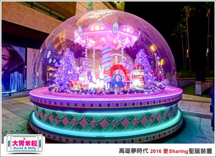 2016聖誕約會景點推薦@高雄夢時代 統一時代百貨 2016聖誕裝置@大胃米粒0044.jpg