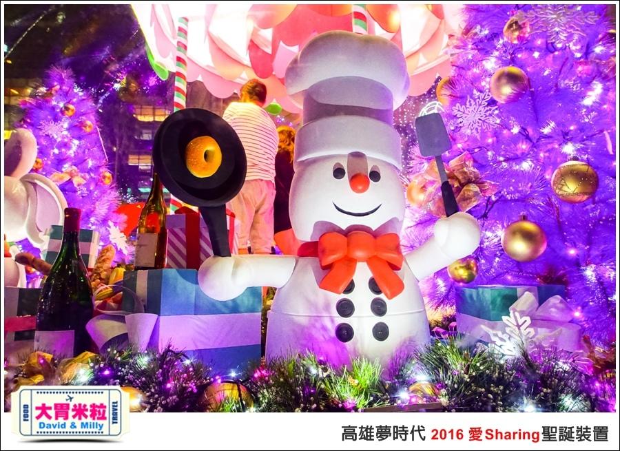 2016聖誕約會景點推薦@高雄夢時代 統一時代百貨 2016聖誕裝置@大胃米粒0046.jpg