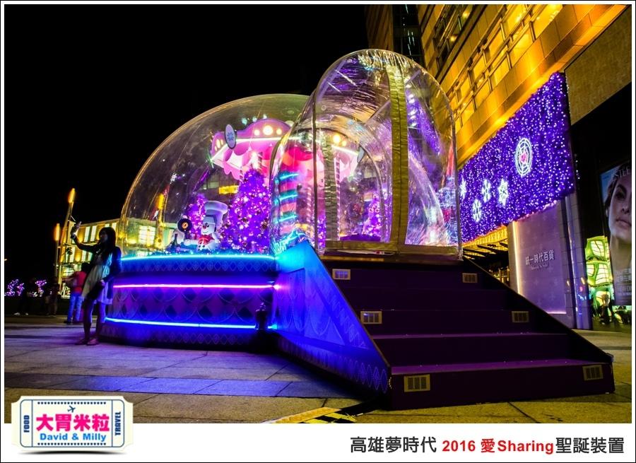 2016聖誕約會景點推薦@高雄夢時代 統一時代百貨 2016聖誕裝置@大胃米粒0047.jpg
