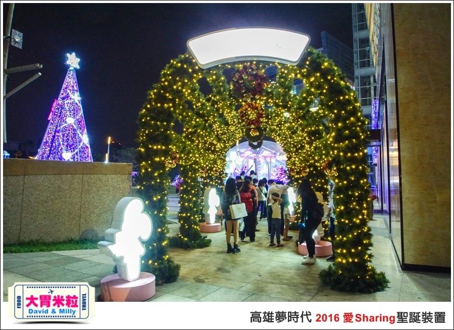 2016聖誕約會景點推薦@高雄夢時代 統一時代百貨 2016聖誕裝置@大胃米粒0048.jpg
