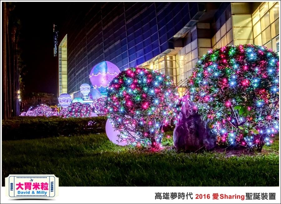 2016聖誕約會景點推薦@高雄夢時代 統一時代百貨 2016聖誕裝置@大胃米粒0063.jpg