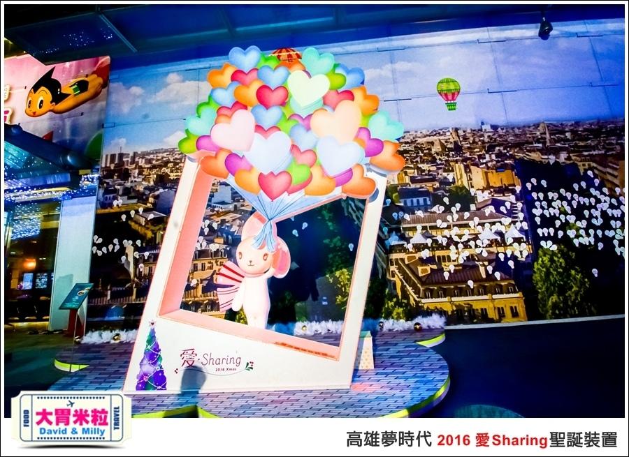 2016聖誕約會景點推薦@高雄夢時代 統一時代百貨 2016聖誕裝置@大胃米粒0064.jpg