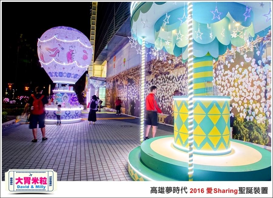 2016聖誕約會景點推薦@高雄夢時代 統一時代百貨 2016聖誕裝置@大胃米粒0067.jpg