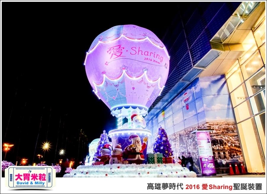 2016聖誕約會景點推薦@高雄夢時代 統一時代百貨 2016聖誕裝置@大胃米粒0068.jpg