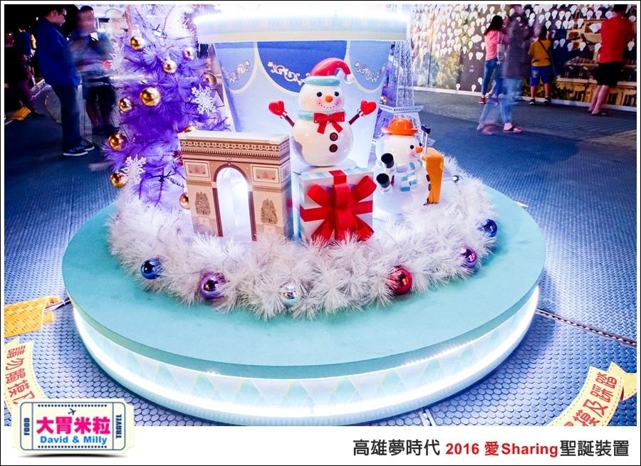 2016聖誕約會景點推薦@高雄夢時代 統一時代百貨 2016聖誕裝置@大胃米粒0070.jpg