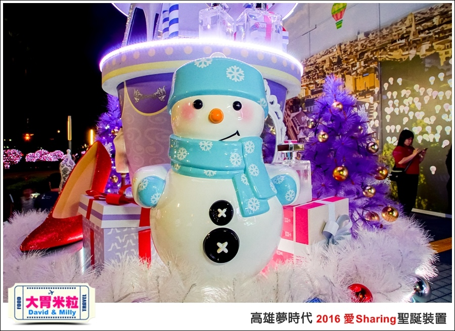 2016聖誕約會景點推薦@高雄夢時代 統一時代百貨 2016聖誕裝置@大胃米粒0071.jpg