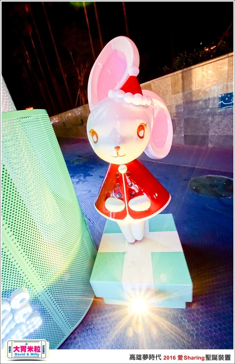2016聖誕約會景點推薦@高雄夢時代 統一時代百貨 2016聖誕裝置@大胃米粒0075.jpg