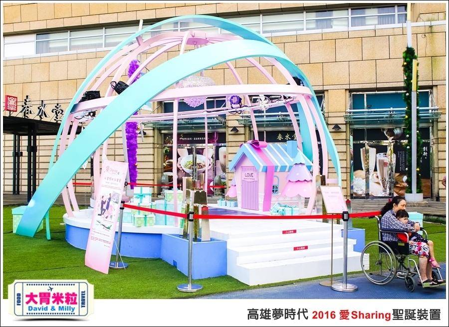 2016聖誕約會景點推薦@高雄夢時代 統一時代百貨 2016聖誕裝置@大胃米粒0082.jpg