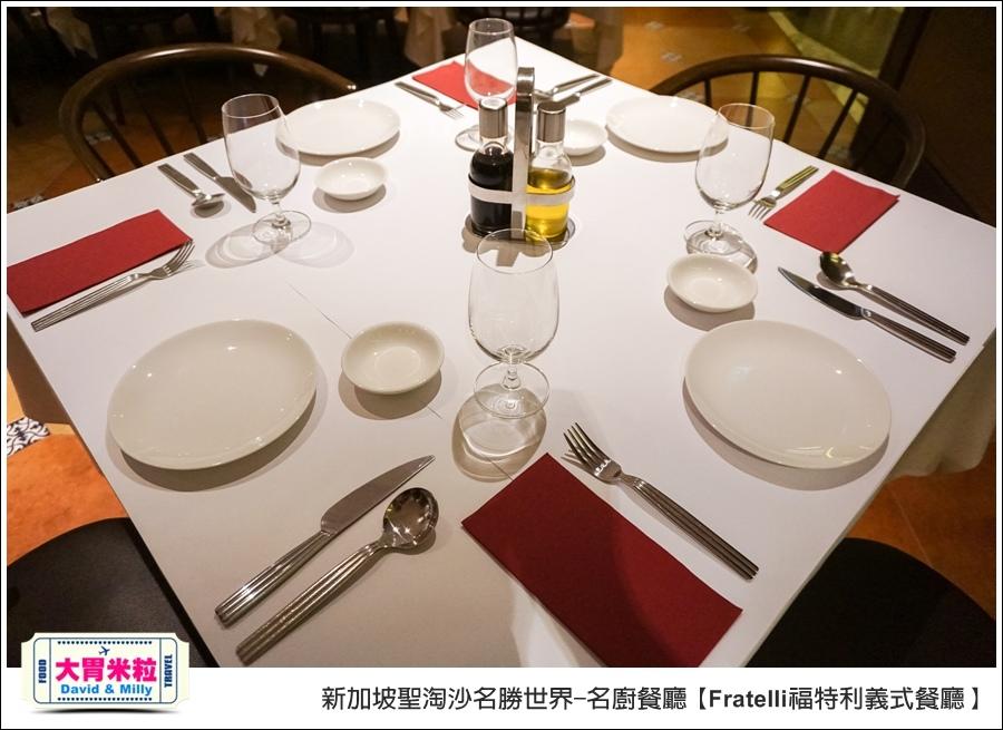 新加坡聖淘沙名勝世界-名廚餐廳@Fratelli福特利義式餐廳@大胃米粒0006.jpg