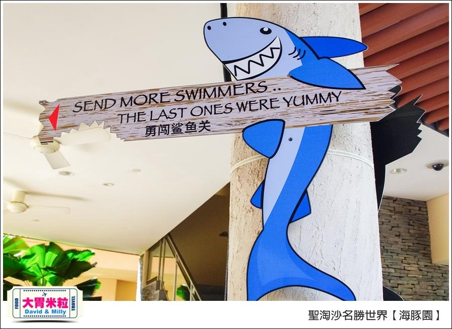 聖淘沙名勝世界必玩@海豚園體驗海豚伴遊@大胃米粒0049.jpg
