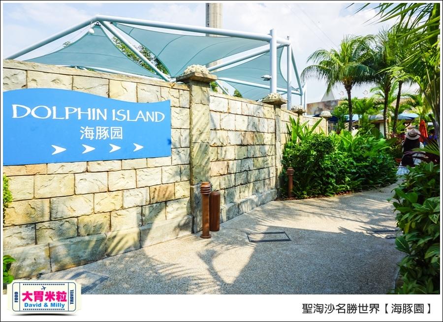 聖淘沙名勝世界必玩@海豚園體驗海豚伴遊@大胃米粒0015.jpg
