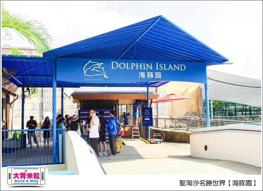 聖淘沙名勝世界必玩@海豚園體驗海豚伴遊@大胃米粒0009.jpg