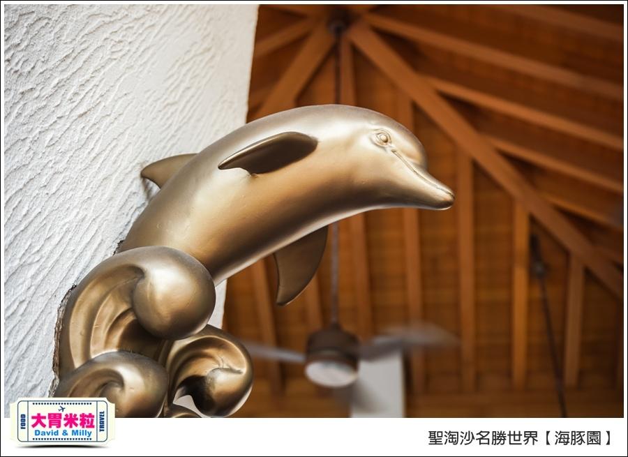 聖淘沙名勝世界必玩@海豚園體驗海豚伴遊@大胃米粒0010.jpg