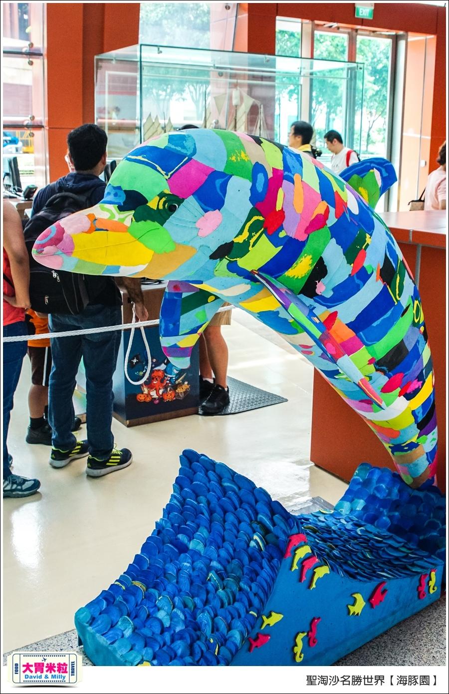 聖淘沙名勝世界必玩@海豚園體驗海豚伴遊@大胃米粒0014.jpg