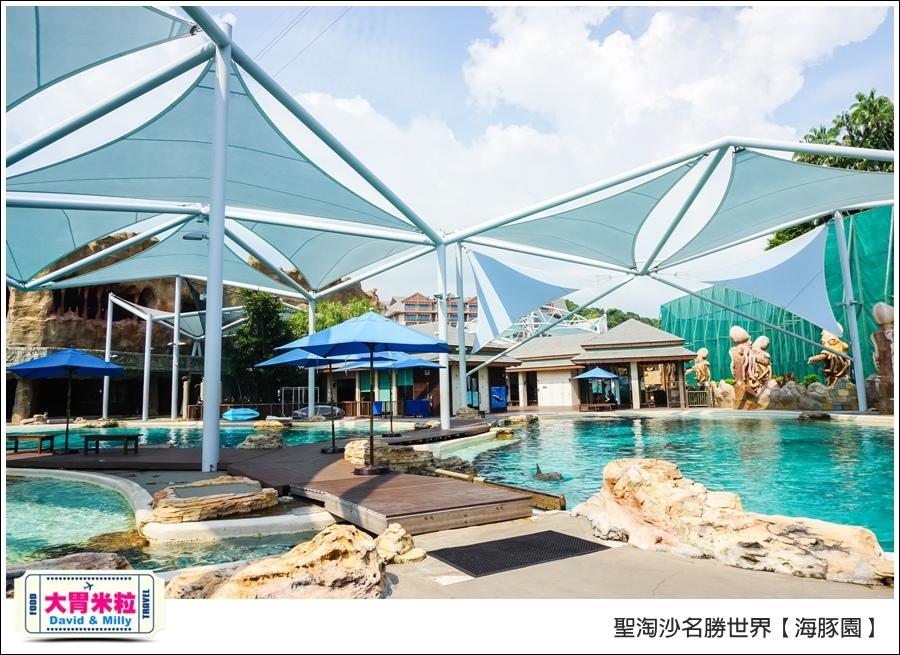 聖淘沙名勝世界必玩@海豚園體驗海豚伴遊@大胃米粒0017.jpg