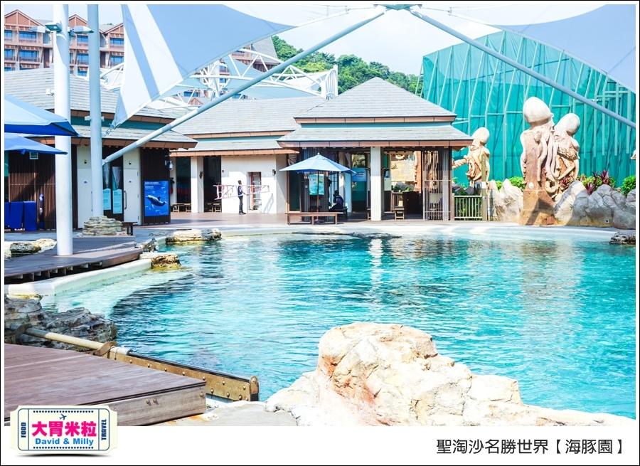 聖淘沙名勝世界必玩@海豚園體驗海豚伴遊@大胃米粒0018.jpg
