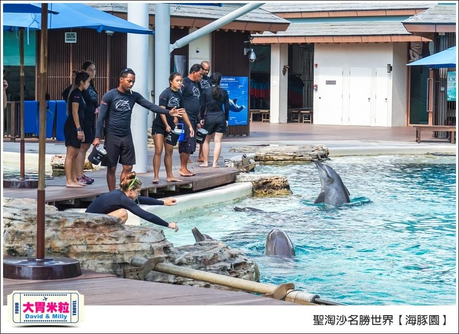 聖淘沙名勝世界必玩@海豚園體驗海豚伴遊@大胃米粒0019.jpg
