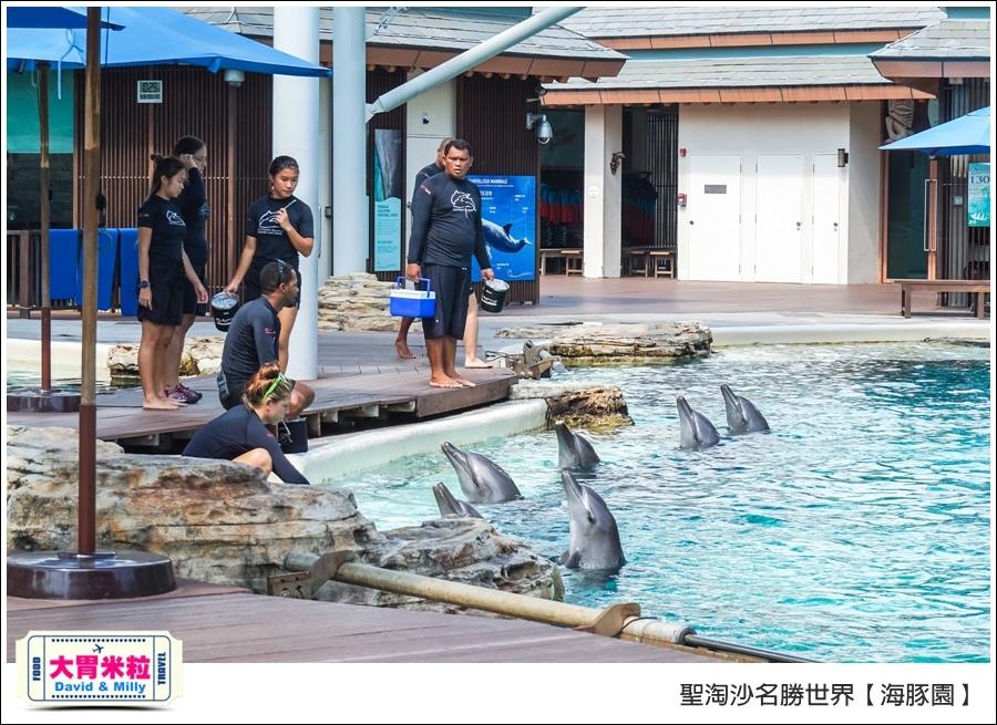 聖淘沙名勝世界必玩@海豚園體驗海豚伴遊@大胃米粒0020.jpg