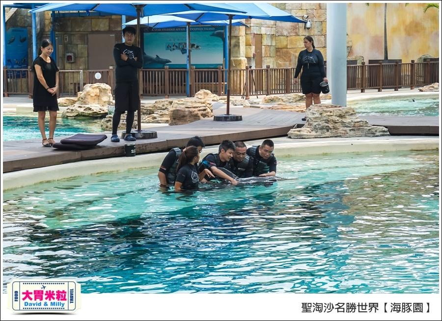聖淘沙名勝世界必玩@海豚園體驗海豚伴遊@大胃米粒0021.jpg