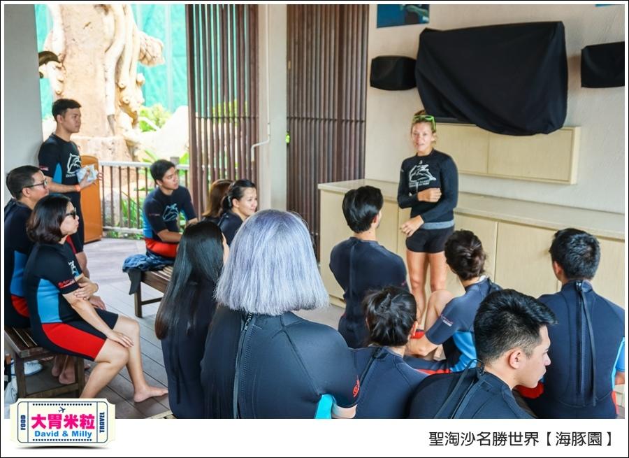 聖淘沙名勝世界必玩@海豚園體驗海豚伴遊@大胃米粒0023.jpg