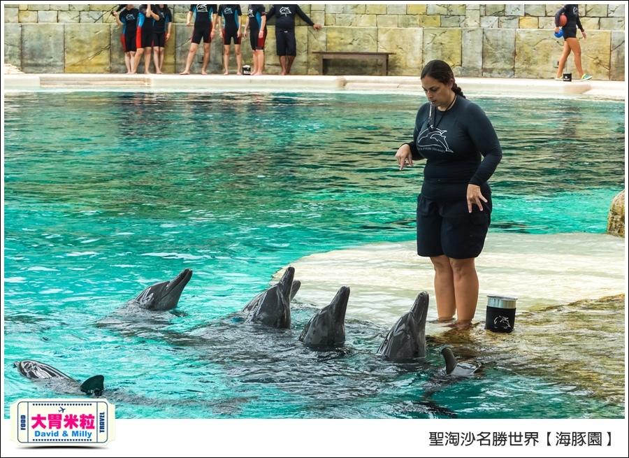 聖淘沙名勝世界必玩@海豚園體驗海豚伴遊@大胃米粒0025.jpg