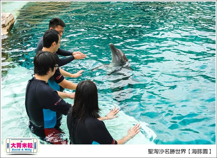 聖淘沙名勝世界必玩@海豚園體驗海豚伴遊@大胃米粒0028.jpg
