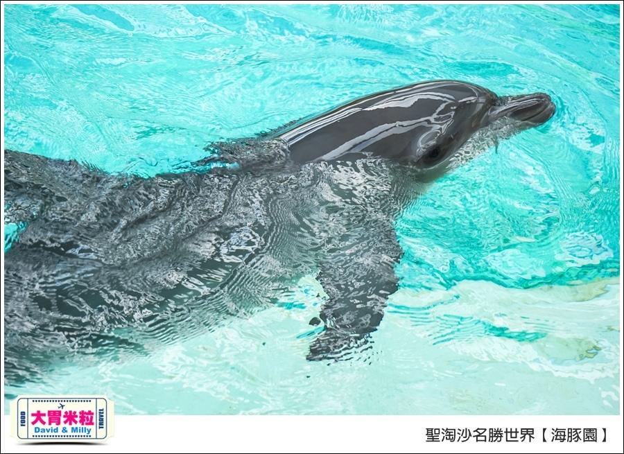 聖淘沙名勝世界必玩@海豚園體驗海豚伴遊@大胃米粒0027.jpg