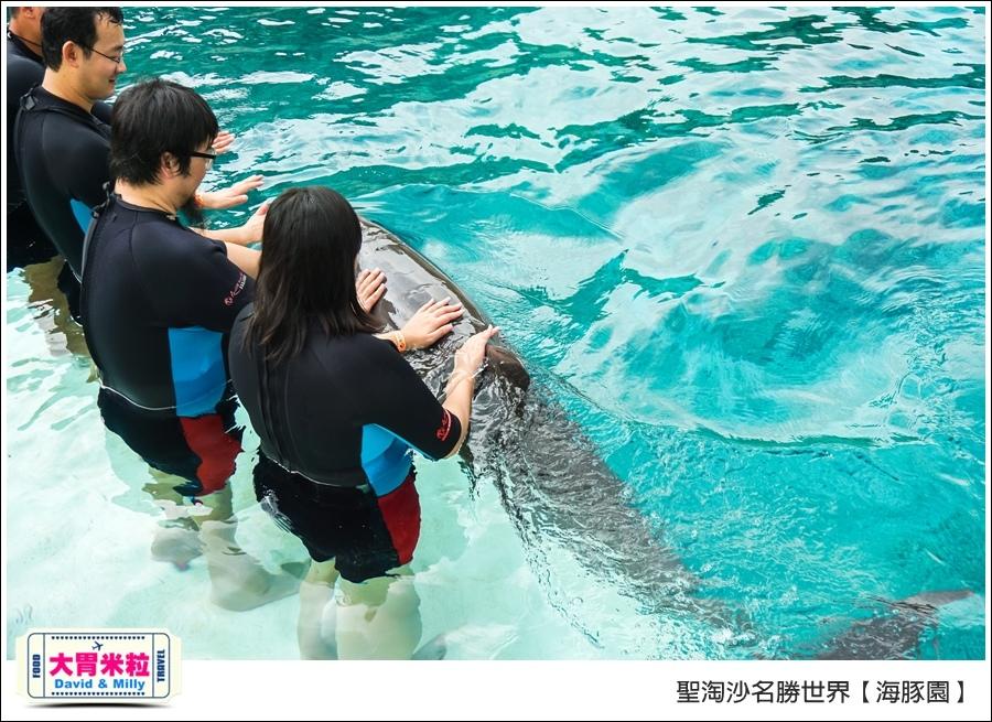 聖淘沙名勝世界必玩@海豚園體驗海豚伴遊@大胃米粒0029.jpg
