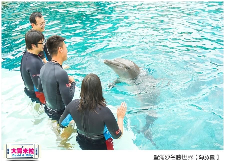 聖淘沙名勝世界必玩@海豚園體驗海豚伴遊@大胃米粒0030.jpg