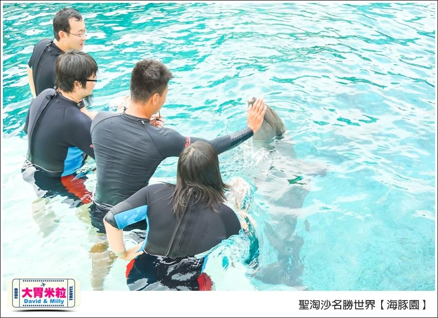 聖淘沙名勝世界必玩@海豚園體驗海豚伴遊@大胃米粒0031.jpg