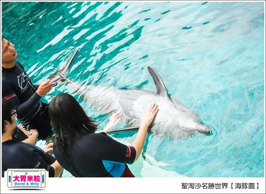 聖淘沙名勝世界必玩@海豚園體驗海豚伴遊@大胃米粒0032.jpg