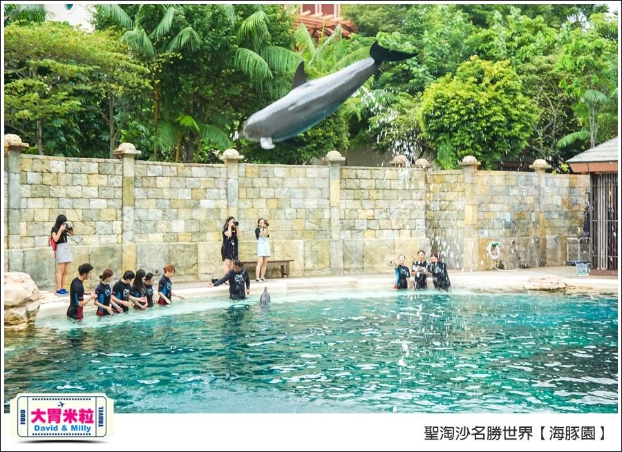 聖淘沙名勝世界必玩@海豚園體驗海豚伴遊@大胃米粒0035.jpg