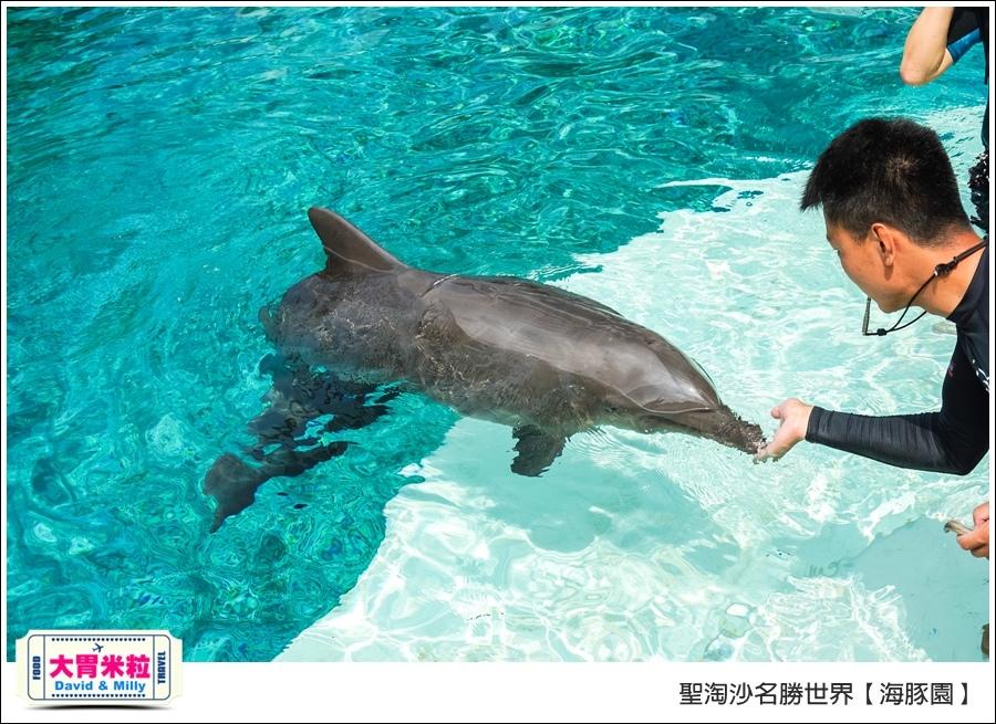 聖淘沙名勝世界必玩@海豚園體驗海豚伴遊@大胃米粒0036.jpg