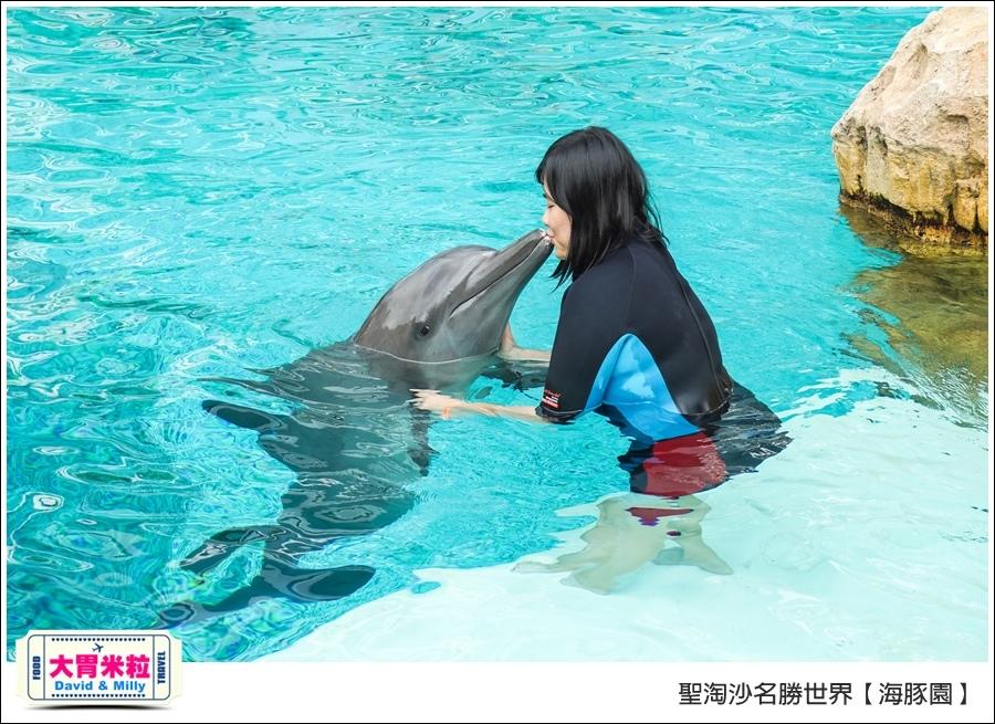 聖淘沙名勝世界必玩@海豚園體驗海豚伴遊@大胃米粒0037.jpg