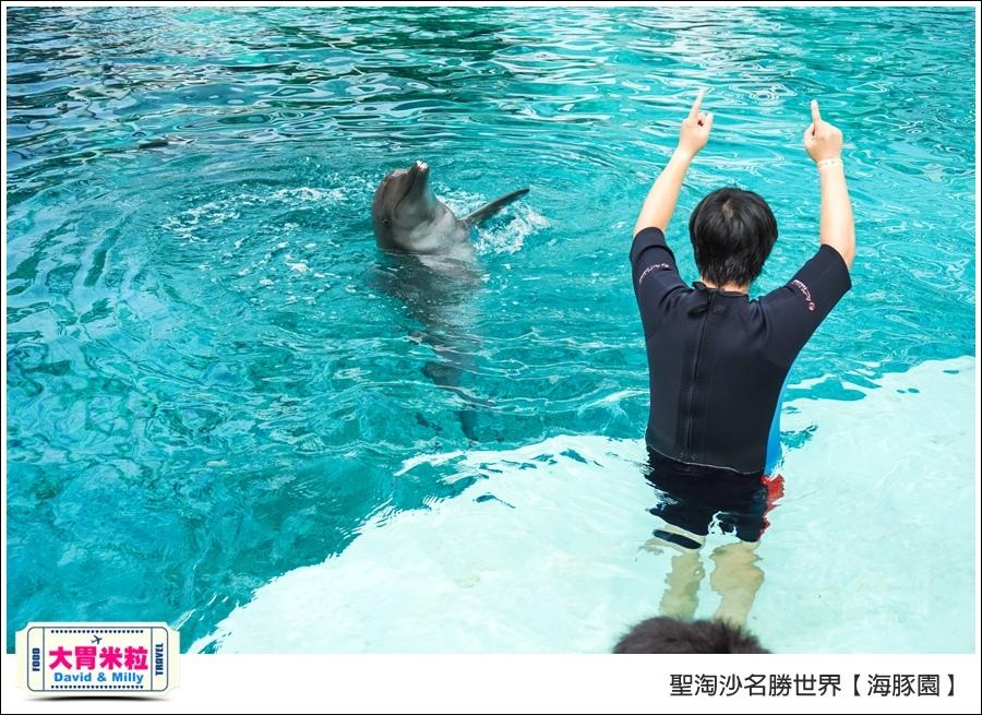 聖淘沙名勝世界必玩@海豚園體驗海豚伴遊@大胃米粒0039.jpg