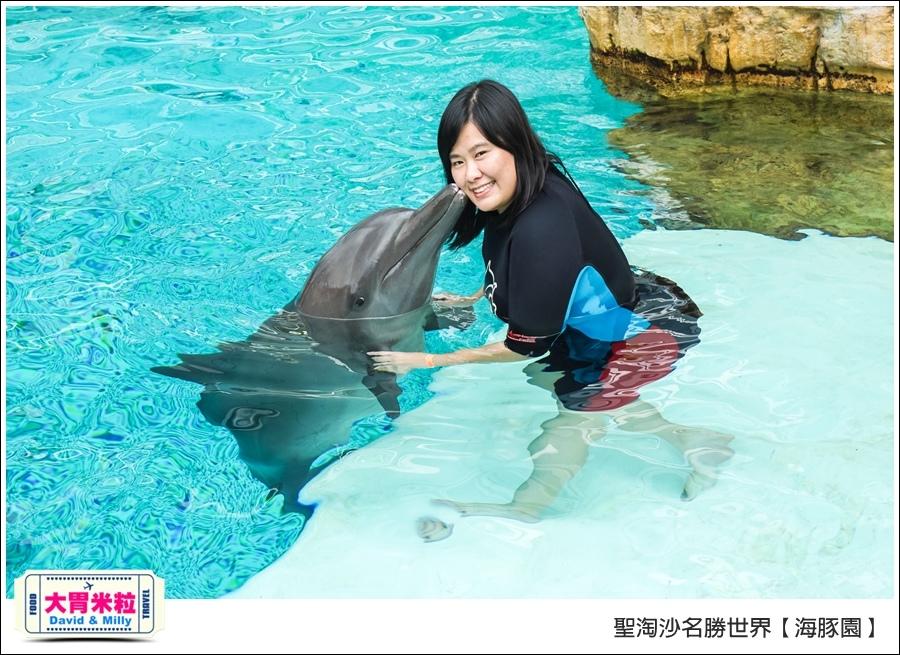 聖淘沙名勝世界必玩@海豚園體驗海豚伴遊@大胃米粒0038.jpg