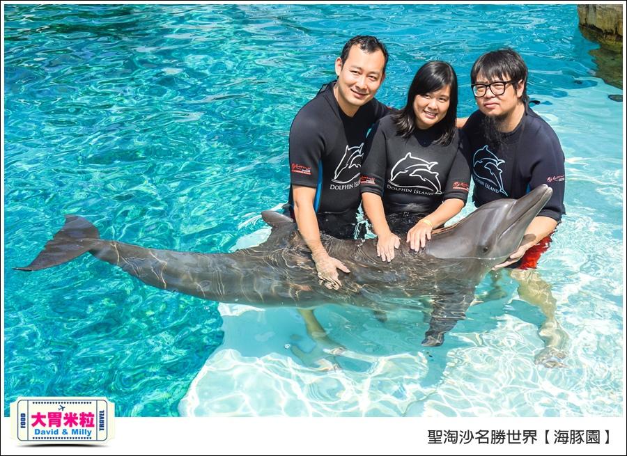 聖淘沙名勝世界必玩@海豚園體驗海豚伴遊@大胃米粒0041.jpg